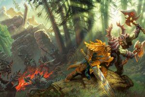 orc fantasy art world of warcraft world of warcraft