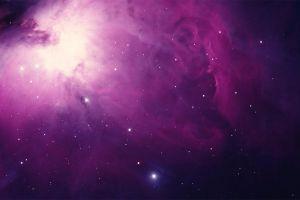 orion space art stars digital art space nebula colorful