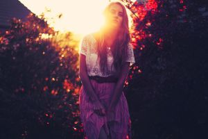 outdoors model golden hour women outdoors