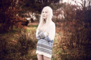 outdoors women outdoors women model white hair