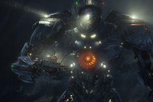 pacific rim science fiction robot movies machine dark ship futuristic