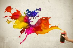 painting artwork colorful