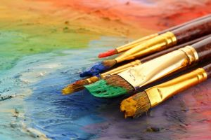painting paintbrushes artwork