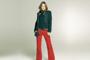 pants gloves women simple background jacket model alessandra ambrosio