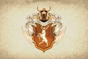 paper game of thrones house baratheon coats of arms artwork sigils crest