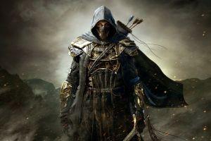 pc gaming artwork fantasy art video games the elder scrolls online fantasy men