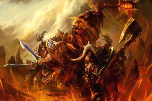 pc gaming fantasy art garrosh hellscream world of warcraft video games warcraft
