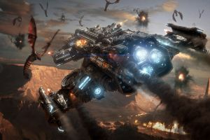 pc gaming video games starcraft ii science fiction vehicle