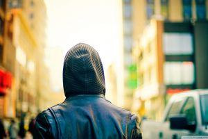 people hoods city urban
