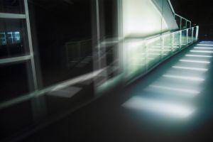 photography black lights dark building urban