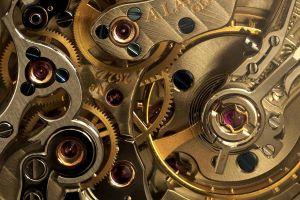 photography clockwork gold clocks