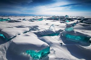photography cyan russia landscape ice sky snow siberia nature blue lake baikal