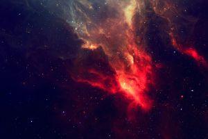 photography space art digital art red space stars nebula tylercreatesworlds artwork universe