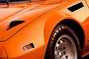 pirelli orange cars car vehicle muscle cars