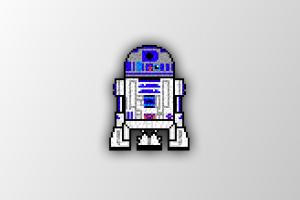 pixel art robot pixels trixel star wars