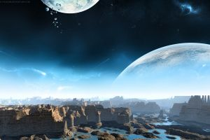 planet space artwork