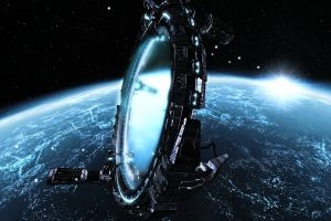 planet video games digital art futuristic space art space science fiction