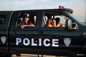 police model sunglasses vehicle police women car women