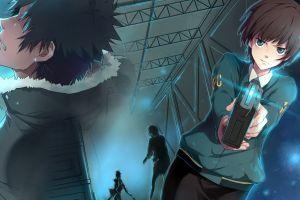 psycho-pass anime shinya kogami tsunemori akane anime girls
