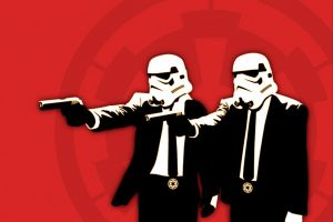 pulp fiction star wars humor stormtrooper pulp fiction (parody)
