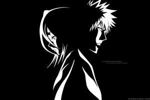 quote bleach anime vectors kurosaki ichigo anime kuchiki rukia