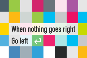 quote square motivational white arrows (design) typography