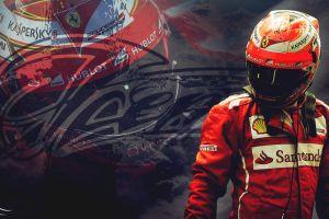 racing formula 1 ferrari kimi raikkonen sport  helmet men