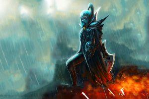 rain phantom assassin dota 2 warrior valve dota