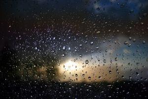 rain water drops water on glass glass