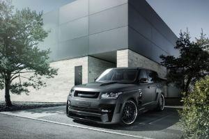 range rover black cars suv car vehicle