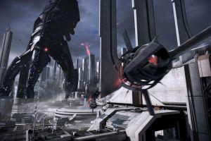 reapers mass effect city video games mass effect 3 destruction