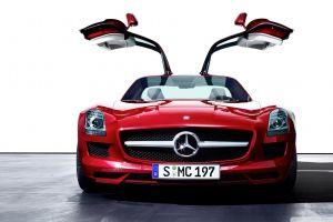 red cars car mercedes-benz sls amg white background mercedes-benz mercedes amg petronas vehicle