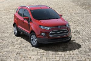 red cars car vehicle ford ecosport