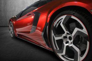 red cars sports car car lamborghini aventador coupe