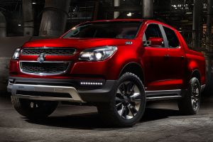 red cars vehicle car holden holden colorado