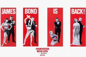 red movies movie poster panels james bond