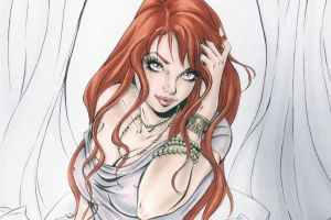 redhead spider-man artwork women mary jane