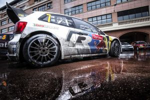 reflection vehicle car volkswagen vw polo wrc rally cars