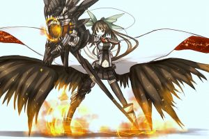 reiuji utsuho anime touhou anime girls