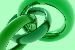 render green abstract digital art cgi