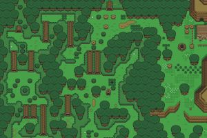 retro games video games the legend of zelda: a link to the past artwork nintendo lost woods the legend of zelda digital art