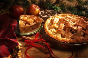 ribbon pies dessert food apples