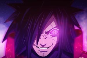 rinnegan naruto shippuuden uchiha madara anime