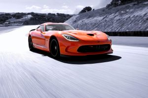 road car viper sports car vehicle orange cars
