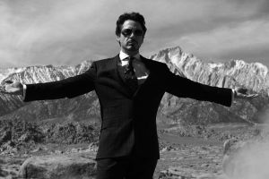 robert downey jr. movies tony stark marvel cinematic universe monochrome iron man