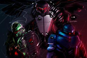 robot cyborg science fiction mech digital art