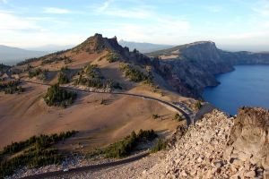 rock outdoors road landscape