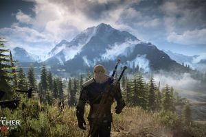 rpg the witcher 3: wild hunt geralt of rivia landscape video games screen shot