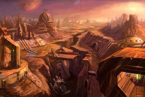 ruin artwork science fiction