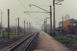 russia railway train station railway station